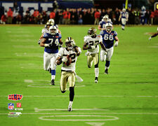 New Orleans Saints SUPER BOWL XLIV Tracy Porter Interception Premium POSTER