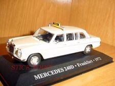 MERCEDES 240D 240 D TAXI FRANKFURT (GERMANY) 1972 1:43