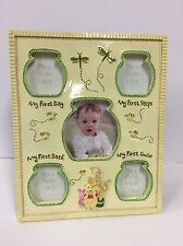 "DISNEY BABY Winnie the Pooh My First Steps Smile Day Baby Frame 11""X8.5"" (N257)"