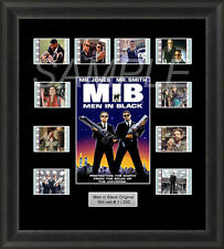 MEN IN BLACK FRAMED FILM CELL MEMORABILIA WILL SMITH