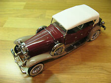 Franklin MINT 1930 DUESENBERG J derham tourster 1,24 scala NEAR MINT COND Boxed.