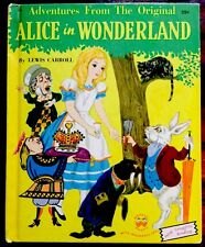 Vintage Children's Wonder Book ~ ALICE IN WONDERLAND By Lewis Carol