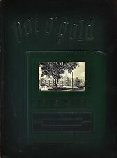 1951 POT O' GOLD Yearbook Lima South High School Lima Allen County, Ohio
