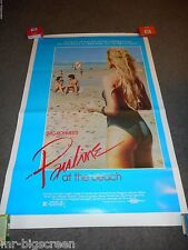 PAULINE AT THE BEACH - ORGINAL ROLLED SS POSTER - 1983 - ERIC ROHMER