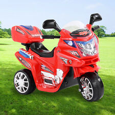 3 Wheels Power Motorcycle Battery Powered Ride On Electric Toy Kid Baby Car 6v