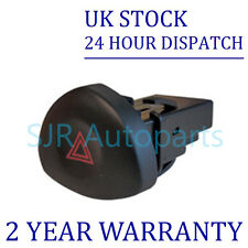 FOR RENAULT CLIO 1.2 1.4 1.5 1.6 1.8 2.0 DCI HAZARD WARNING LIGHT SWITCH BUTTON