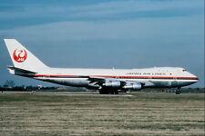 576006 Japan Airlines B747 246B London Heathrow UK A4 Photo Print