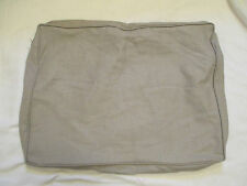 Pottery Barn Comfort Sectional Couch Replacement Cushion Slipcover Silver Taupe