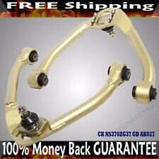 GOLD Adjustable Front Upper Camber Arm For 08-13 G37 Coupe 09-13 G37 Convertible