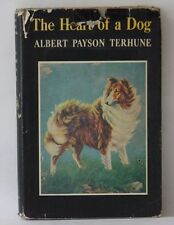 1957 Collie Book The Heart Of A Dog by Albert Payson Terhune Junior Deluxe Ed