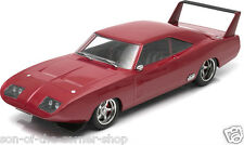 GREENLIGHT 1/18 DOM'S 1969 CUSTOM DODGE CHARGER DAYTONA FAST & FURIOUS 6 #12800