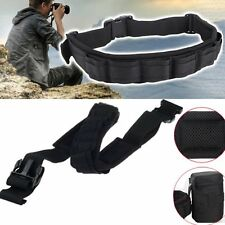 Multi-function Adjustable Padded Lens Bag Holder Pouch Camera Waist Belt Strap