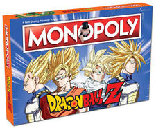 Dragon Ball Z MONOPOLY Board Game New 2017 NEW Factory Sealed Ready To Ship