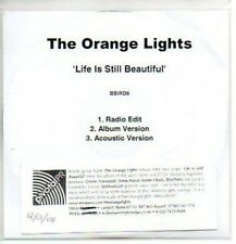(391J) The Orange Lights, Life is Still Beautiful DJ CD