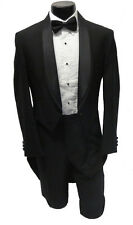 3B NEW w/ Tags Designer Boys Oscar de la Renta 100% Wool Shawl Tuxedo Tailcoat