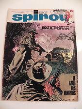 SPIROU LE JOURNAL DE SPIROU 1608 Fevrier 1969 Couverture GIL mini-recits