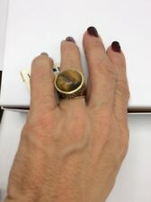 $35 Lucky Brand Hoot Couture Epoxy Stone Ring Size 7
