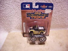 FLEER COLLECTIBLES PITTSBURGH PIRATES MINI MONSTER TRUCK NIP PULL BACK FORD F350