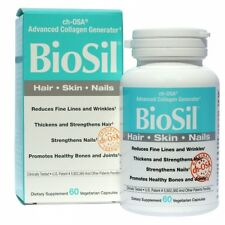 BioSil ch-OSA Advanced Collagen Generator, 60 Veggie Caps - Natural Factors