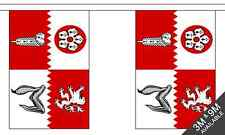 Leicestershire British County 3 metre long, 10 flag bunting
