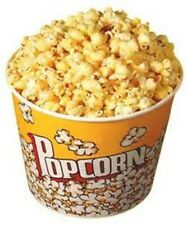 "Large Jumbo Popcorn Tub Bowl 8.25"" x 8.75"" Movie Theater Style BPA Free Plastic"