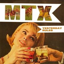 MTX - Mister T Experience - YESTERDAY RULES CD [2004]