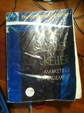 Marketing Management by Kevin Lane Keller and Philip Kotler (2009, Paperback)
