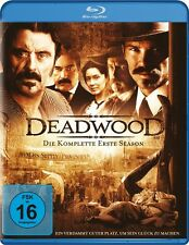 DEADWOOD SEASON 1  3 BLU-RAY NEU  JIM BEAVER/MOLLY PARKER/BRAD DOURIF/+