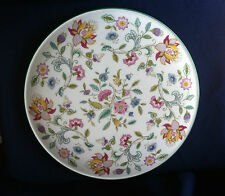Minton Haddon Hall (green) raised gateau plate ( very minor flaws)
