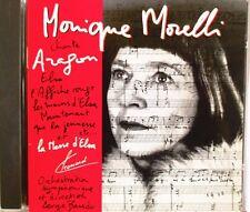 """MONIQUE MORELLI - CD 18 TITRES """"CHANTE ARAGON"""""""