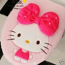 Pink Cute Hello Kitty Bow-knot Toilet Seats & Lid Cover