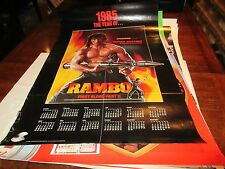 "Rambo , POSTER , First Blood Part 2 , 1985 , 24"" X 36"""