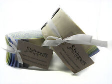 """Fabric Freedom Jelly Roll Strips Powder Shades/Solids Pastels 40 Pcs 2.5"""" x 44"""""""