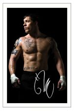 TOM HARDY WARRIOR SIGNED AUTOGRAPH PHOTO PRINT