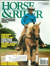 1991 Horse & Rider Magazine: Perfect Diet/Looks for Big Events/Private Lesson
