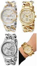SALE!!! Michael Kors RUNWAY TWIST CHAIN CHRONOGRAPH SERIES Watch