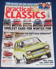 PRACTICAL CLASSICS FEBRUARY 2006 - COOLEST CARS FOR WINTER FUN