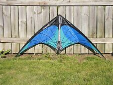 NEXUS--blue-STUNT KITE --by Prism--FREE USA SHIPPING !!