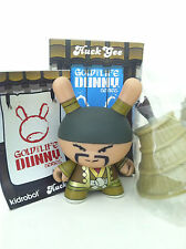 "DUNNY 3"" GOLD LIFE HUCK GEE TARZO THE UNKNOWN RIFLEMAN ?/?? CHASE 2011 KIDROBOT"