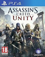 Playstation 4 Assassins Creed Unity (PS4) Como Nuevo