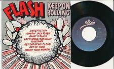 "FLASH 45 TOURS 7"" HOLLANDE KEEP ON ROLLING (DES ROLLING STONES MICK JAGGER)"
