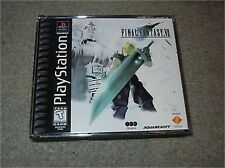 ***FINAL FANTASY VII 7 PS1 PLAYSTATION 1 BLACK LABEL COMPLETE***