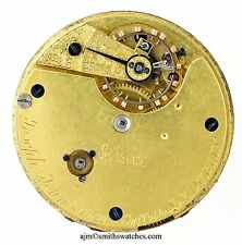 Joseph Johnson 22 Suffolk STREET Dublin Orologio Da Taschino pezzi di ricambio per circolazione R314