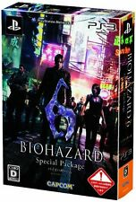 Used PS3 Ps3 Biohazard 6 Special Package