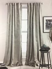 "DKNY 2 Uptown Loft Taupe Tan Curtains Drapes Panels Long 96"" Room Darkening"