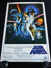 STAR WARS 1977 * STYLE C * 27x41 BOOTLEG ONE SHEET MOVIE POSTER *C10 MINT ROLLED