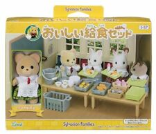 Sylvanian Families school and kindergarten delicious lunch set S-57