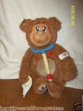 PawPalz Boo Boo Get Well Teddy Bear Plush Doctor Stethoscope Sounds Lights Up