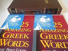 Complete Biblical Library Romans Corinthians Study Bible + 2 Amazing Greek Words