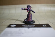 D&D Mind Flayer Mini Harbinger #50 w/Card, Pathfinder Dungeons Dragons